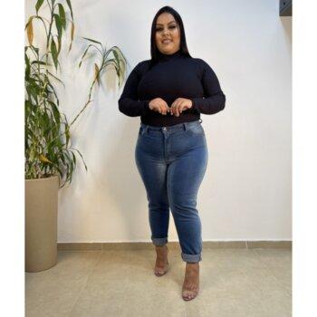 Calça Jeans Clara Skinny Cintura Alta Feminina